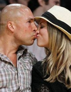 Kaley Cuoco and Bret Bollinger