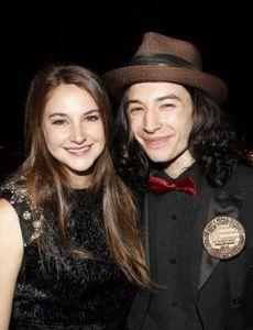 Ezra Miller and Shailene Woodley