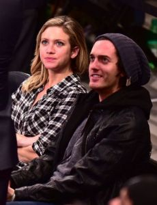 Brittany Snow and Andrew Jenks