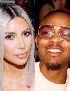 Shad Moss and Kim Kardashian West