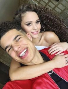 Madison Pettis and Michael Porter Jr.