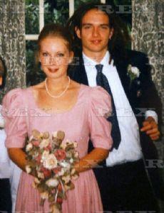 Justin Hawkins and Kathryn Biddle