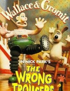 Wallace & Gromit in The Wrong Trousers