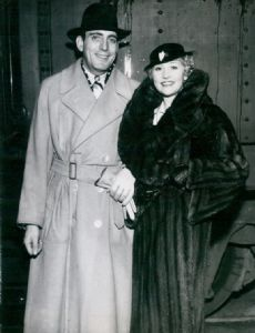 Betty Compson and Irving Weinberg