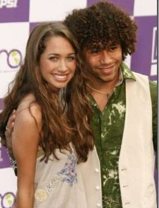 Corbin Bleu and Maiara Walsh