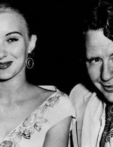 Burgess Meredith and Kaja Sundsten