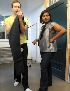 Mindy kaling and bj novak book