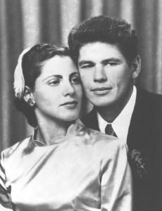 Charles Bronson and Harriet Tendler