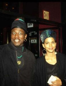 Halle Berry and Wesley Snipes