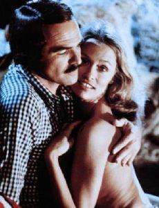 Burt Reynolds and Lauren Hutton