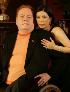 Larry Flynt and Elizabeth Berrios