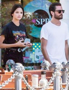 Scott Disick and Christine Burke