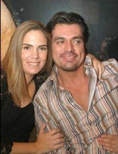 Jorge Salinas and Fátima Boggio