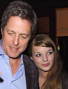 Hugh Grant and Elisa Schmidt