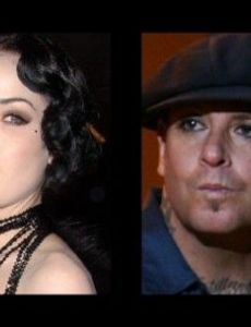 Dita Von Teese and Mike Ness