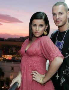 Nelly with her ex-boyfriend