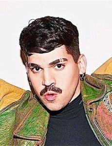 Gay hairy latino man