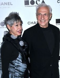 Frank Gehry and Berta Isabel Aguilera