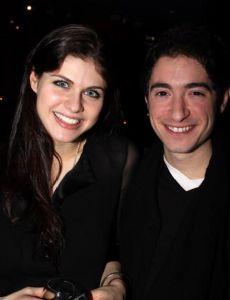 Alexandra Daddario and Jason Fuchs