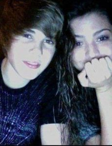 Jacque Pyles and Justin Bieber