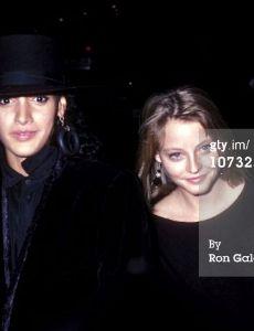 Jennifer Beals and Jodie Foster