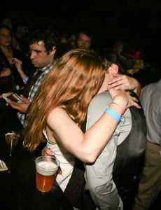 Ed Westwick and Drew Barrymore