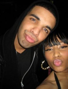 Aubrey Graham and Nicki Minaj