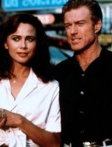 Robert Redford and Lena Olin