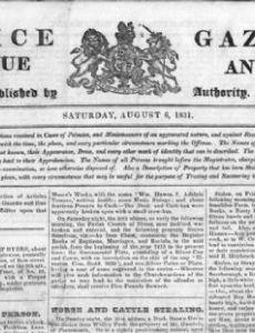 Police Gazette (Great Britain and Ireland)