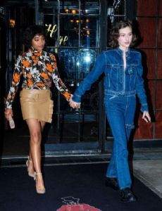 Amandla Stenberg and King Princess
