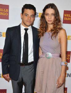 Rami Malek and Angela Sarafyan
