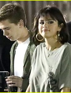 Caleb Stevens and Selena Gomez