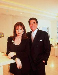 Jacqueline (Jackie) Collins and Frank Calcagnini
