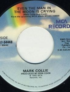 Even the Man in the Moon Is Cryin'