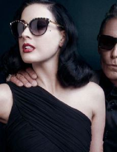 Mark Mahoney and Dita Von Teese