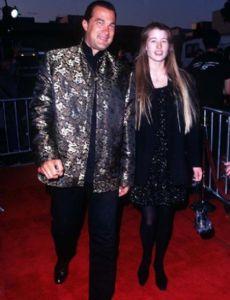 Adrienne La Russa and Steven Seagal