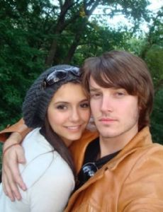 Nina Dobrev and Evan Williams