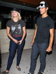 Ashley Benson and Taylor Lautner