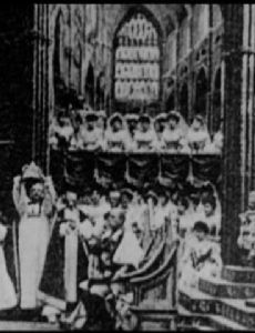 Reproduction, Coronation Ceremonies: King Edward VII