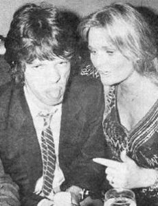 Valerie Perrine and Mick Jagger