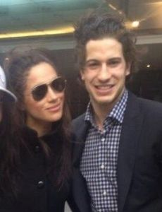 Meghan Markle and Michael Del Zotto