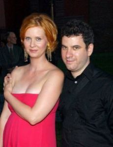 Cynthia Nixon and Danny Mozes