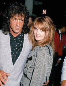 Sylvester Stallone and Cornelia Guest