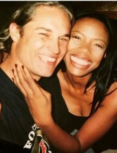 Travis Fimmel and Jill Marie Jones