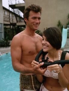 Clint Eastwood and Jill Banner