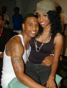 Trey Songz and Necole Bitchie