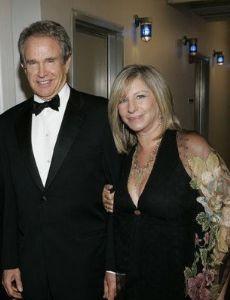 Warren Beatty and Barbra Streisand