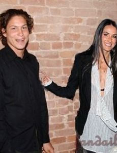Demi Moore and Vito Schnabel