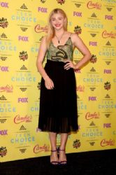 Actress Chloe Grace Moretz poses in the press room during the Teen Choice Awards 2015 at the USC Galen Center on August 16, 2015 in Los Angeles, California