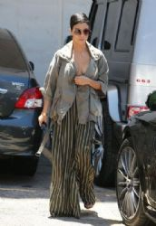 Kourtney Kardashian: at the Pantages Theatre in Hollywood